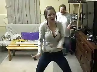 Big Tit Slut Stacy Spicer Dancing