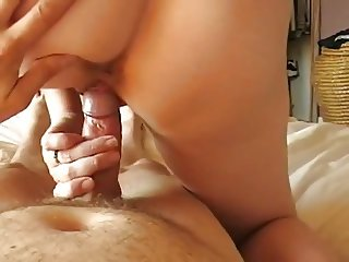 Wifes Cowgirl Sex Ends So Well