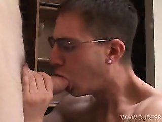 Blond boys Caleb Thorn and and Caleb Storm prove that boys