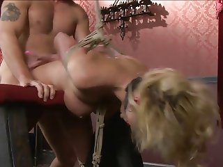 big breast blond bound and fucked 2 of 2
