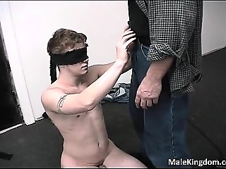Gay half naked with his massive cock part1