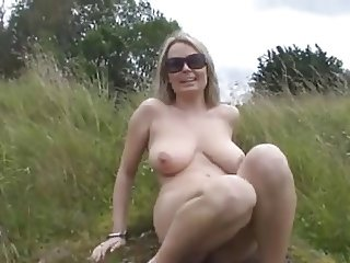 Big Boobs Blonde Fingering In Nature BVR