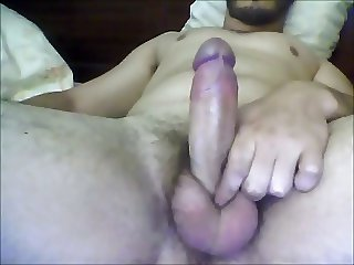 erection and cuming watching porn