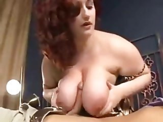 Plump Redhead Knows How to Treat a Cock