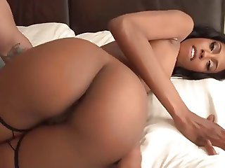 White dick for natural ebony