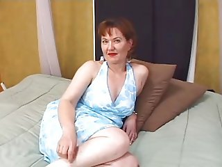 Attractive mature woman