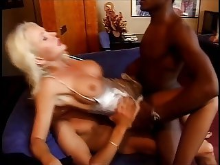 Hard DP for Helen Duval, Big Black Cock