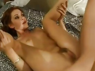 Skinny Redhead Chloe Gives a Very Vocal Performance