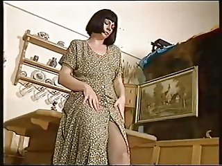 Mature women pantyhose