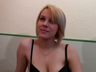 Beautiful French Blonde With Big Tits Loves Anal Fucking