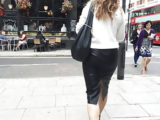 Leather Skirt Walk