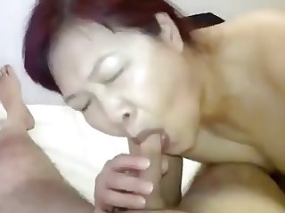 Amateur Mature Asian hooker bj