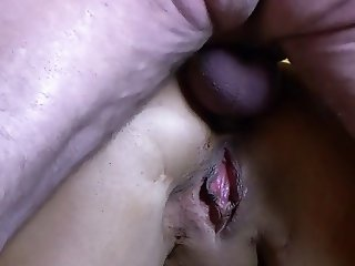 buttfucking with cumshot