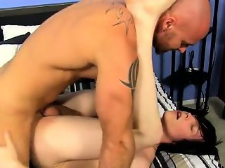Hot gay scene The lad begins to fumble with his manhood in h