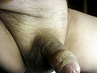 68 yrold Grandpa #140 mature cum close closeup wank uncut