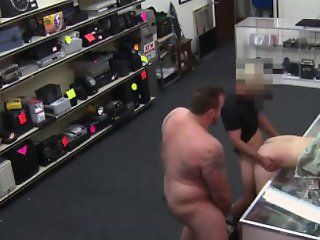 Pawn shop gay straight amateur nailed