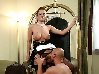 Successful sex with maid