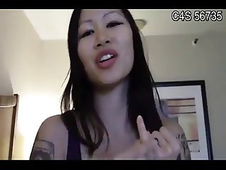 Funny Small Oriental Penis Humiliation by East Asian Girl