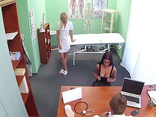 Doctor Love's Office-Big Boob Examine-by PACKMANS