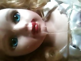 18year old doll tied in garage