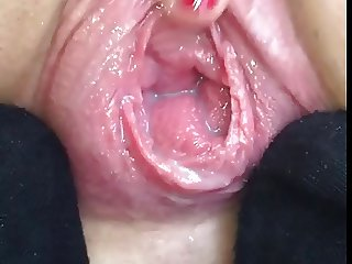 Squirt gape pussy