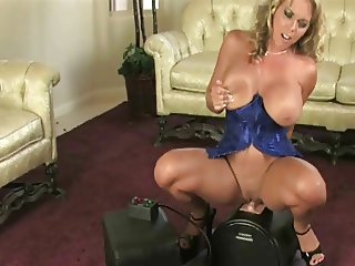 Beautiful Women Show Their O Face on The Sybian Combo