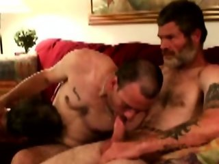 Bluecollar mature rednecks cocksucking party
