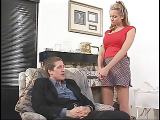 Married Man Anal Sex Two Facials For Busty Babysitter