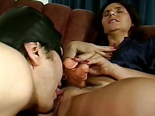 Double Dick Hermaphrodite Cougar Fucks Ugly Sex Slave