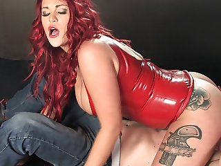 Paige Delight corks 120s latex smoking domination