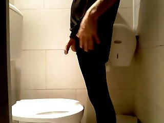 playing public toilet with my hose