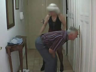 Sexy Teen fucks with older Couple