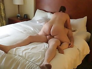 My PAWG wife riding her internet friend in ATL.