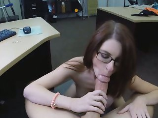 Even An Amateur Blowjob Can Fix Anything For This Slut