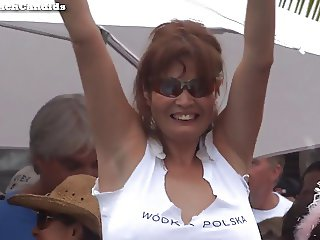 Latina MILF Naked Wet T-Shirt Contest