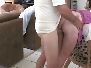 He fucks his housewife in the kitchen 4 breakfast