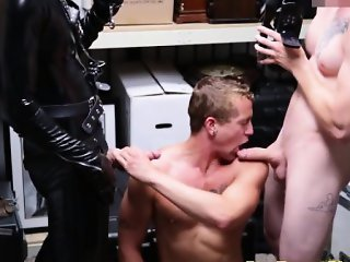 Straight guys assfucked in pawnshop deal