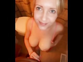 Cute wife with grea pointer sisters oral-sex and titjob