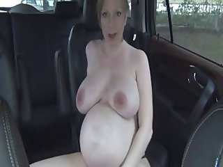 Britney Brooks - teacher and student in the car