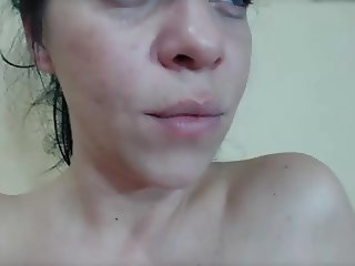 Wife sucks his cock, he fucks her then jerks on her face
