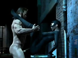 3D Cartwoman getting fucked hard by Wolverine