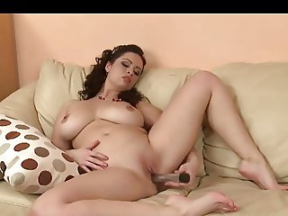 Stunning BBW Just Needs Some Alone Time