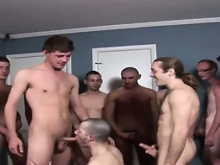 Naked guys Brendan Shaw IS IN THE MOOD to party