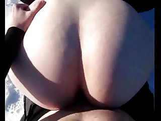 Hot swedish PAWG gets fucked in the snow