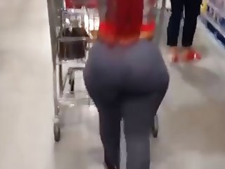 Big Booty Walking in costco