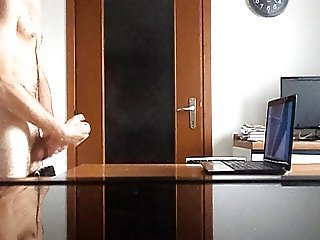 A huge cum fountain a day keeps the doctor away! 18 spurts