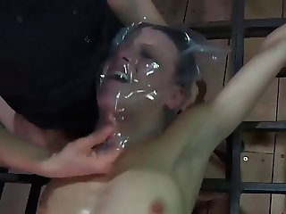 Girl Has Orgasm By Getting Choked