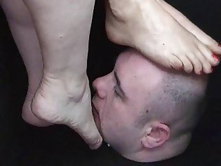 Helpless Foot Worship Chamber