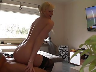 German Amateur Blond