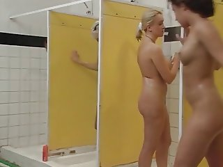 Anal sex in the shower